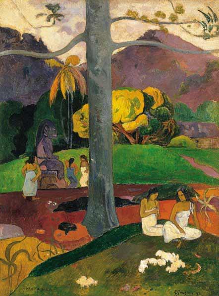 Paul Gauguin - Mata Mua