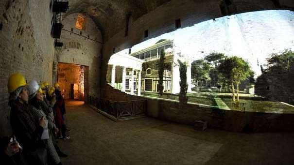 Visita virtual a la Domus Aurea de Nerón, Roma