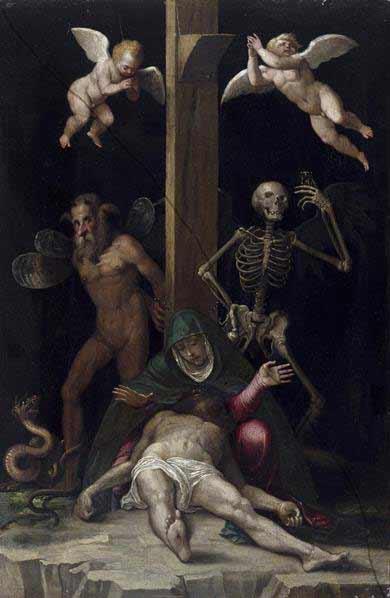 Jacopo Ligozzi - Alegoría de la redención, h. 1587