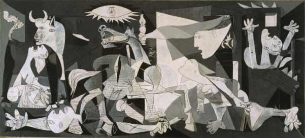 Pablo Picasso - Guernica, 1937. Colección Museo Nacional Centro de Arte Reina Sofía © Sucesión Pablo Picasso, VEGAP, Madrid, 2017