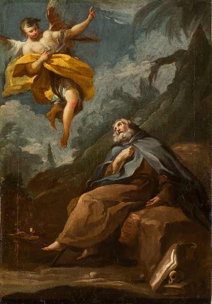 Francisco de Goya y Lucientes - El éxtasis de San Antonio Abad, h. 1778-1781