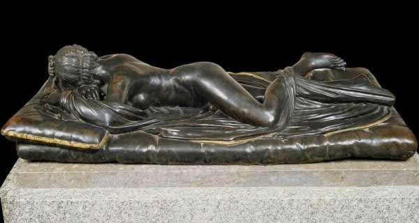 Museo del Prado - Matteo Bonuccelli - Hermafrodito, 1652