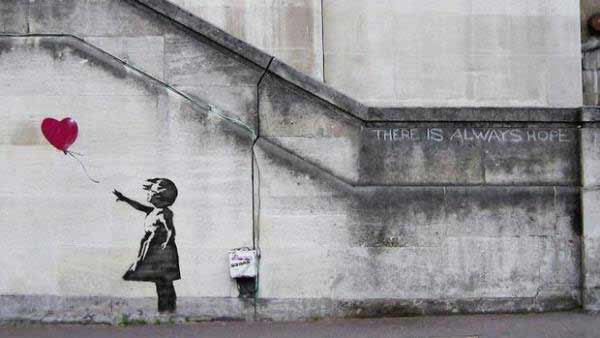 Banksy - Ballon girl