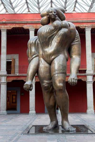 José Luis Cuevas - La Giganta, 1991, Museo José Luis Cuevas, México