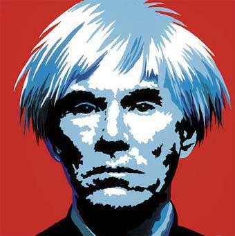 Andy Warhol - Autoretrato