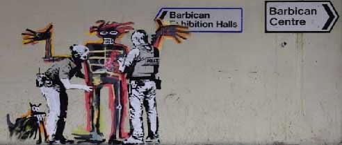 Banksy - Basquiat en Barbican