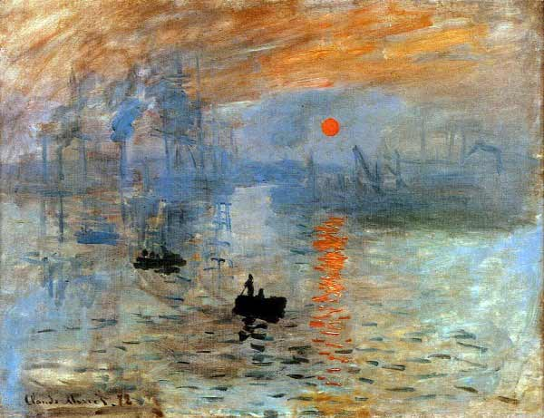 Claude Monet - Impresión, sol naciente, 1872