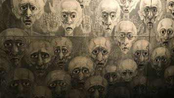 Marian Kołodziej - Eyes of the dead. Marian Kołodziej fue torturado por sus memorias sobre la vida en los campos de concentración.