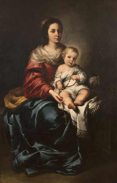 Madonna Eden, obra supuestamente de Bartolomé Esteban Murillo