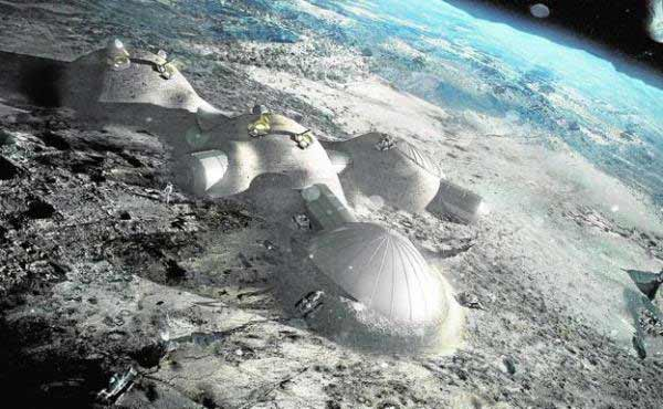 Norman Foster - Proyecto de bases lunares