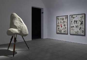 """William Kentridge - vista de la muestra """"Basta y Sobra"""" en el Museo Nacional Centro de Arte Reina Sofía. Fotografía: Joaquín Cortés y Román Lores. Archivo fotográfico del Museo, octubre 2017."""