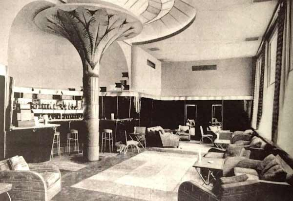 Bar Miami. Zuazo, Arniches y Domínguez. Madrid, 1930