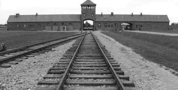 Imagen del Campo de Concentración de Auschwitz en Polonia, en el que murieron más de un millón de personas.