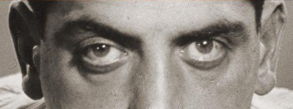 Luis Buñuel. Fotografía. Retrato. Detalle.