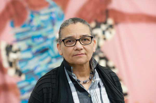 Premio Turner. Lubaina Himid, 2017. Courtesy of the artist and Hollybush Gardens. Photo: Edmund Blok for Modern Art Oxford.