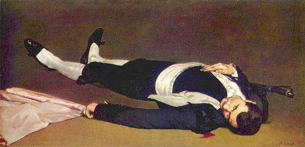 Recortar lo sagrado. Édouard Manet – Torero muerto