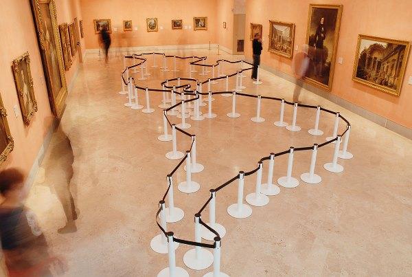 """Mateo Maté – Área restringida (América). Museo Thyssen- Bornemisza. 2017-2018. Exposición """"Lección de Arte""""."""
