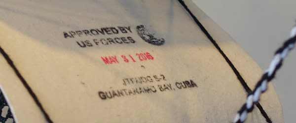Art from Guantánamo Bay. Moath al-Alwi, GIANT, 2015, detalle.