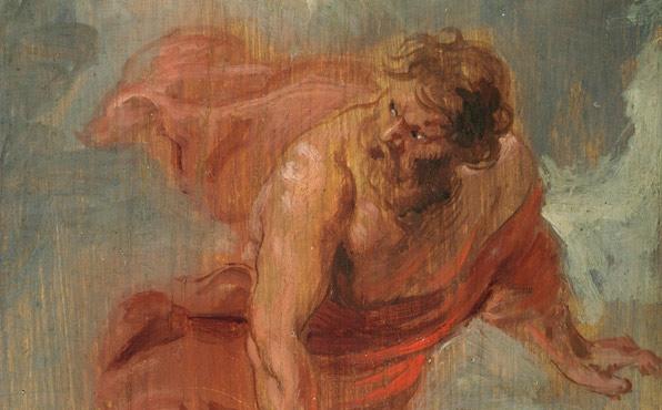 Rubens - Prometeo, detalle.