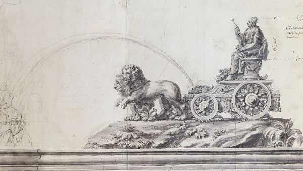 Ventura Rodríguez - Diseño de la fuente de Cibeles.
