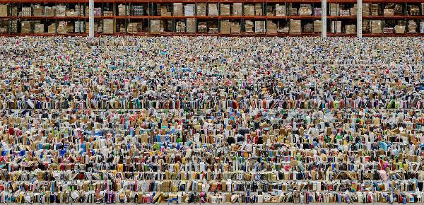 Andreas Gursky – Amazon, 2016. ©Andreas Gursky/DACS, 2017. Courtesy: Sprüth Magers