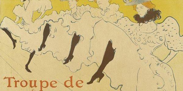 Toulouse Lautrec - Troupe de Mlle Églantine, 1896