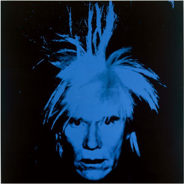 Andy Warhol - Self-Portrait, 1986. Acrílico y tinta serigráfica sobre lienzo. Collection of the Andy Warhol Museum, Pittsburgh © 2017 The Andy Warhol Foundation for the Visual Arts, Inc. / VEGAP.