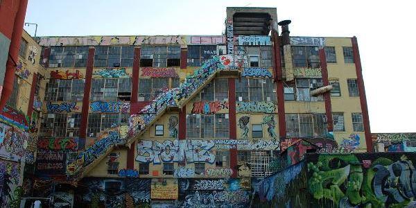 Edificio 5 Pointz – Nueva York. El lugar se convirtió en un templo.