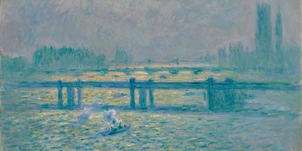 Claude Monet - Charing Cross Bridge, Reflections on the Thames, 1899-1901. Photograph: Claude Monet/Baltimore Museum of Art.