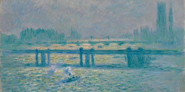 Claude Monet - Charing Cross Bridge, Reflections on the Thames, 1899-1901. Photograph: Claude Monet/Baltimore Museum of Art.