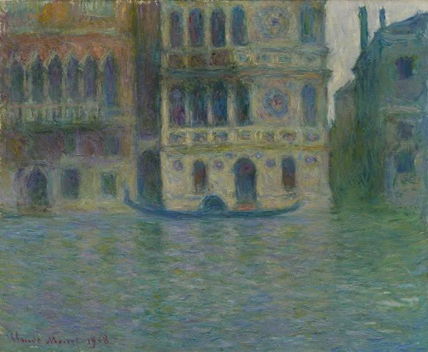 Claude Monet - Venice, Palazzo Dario, 1908. Photograph: he Art Institute of Chicago.