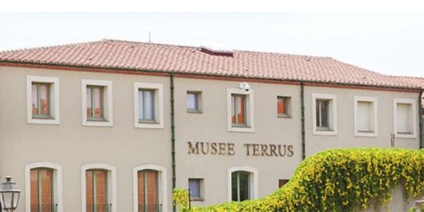 Fachada del Musée Terrus dedicado a la obra del artista en la localidad francesa de Elna.
