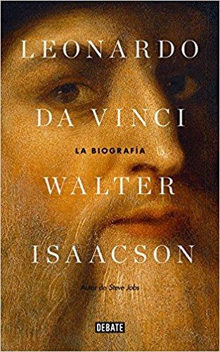 Walter Isaacson - portada del libro Leonardo da Vinci, la biografía.