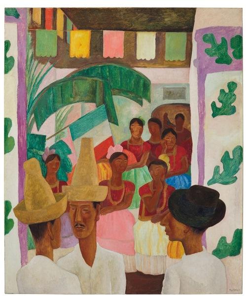 Diego Rivera - Los rivales, 1931.