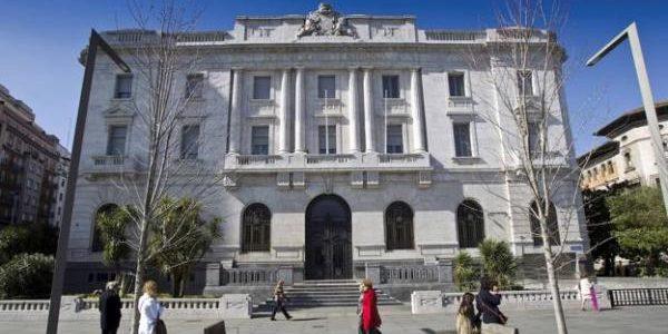 Antiguo edificio del Banco de España en Santander, que albergará el Centro Asociado al Museo Reina Sofía con el Archivo Lafuente.