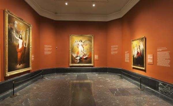 Antonio María Esquivel – Sala de la exposición, Museo Nacional del Prado.