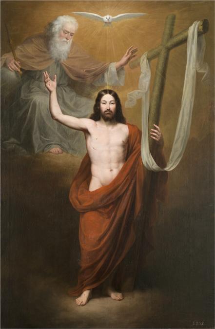 Antonio María Esquivel - El Salvador, 1842. Óleo sobre lienzo. 280 x 182 cm. Museo Nacional del Prado.