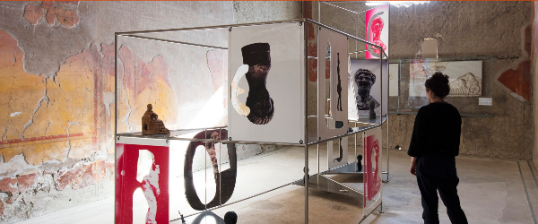 Catrin Huber - Expanded Interiors. Casa del Casa del Bel Cortile en Herculano