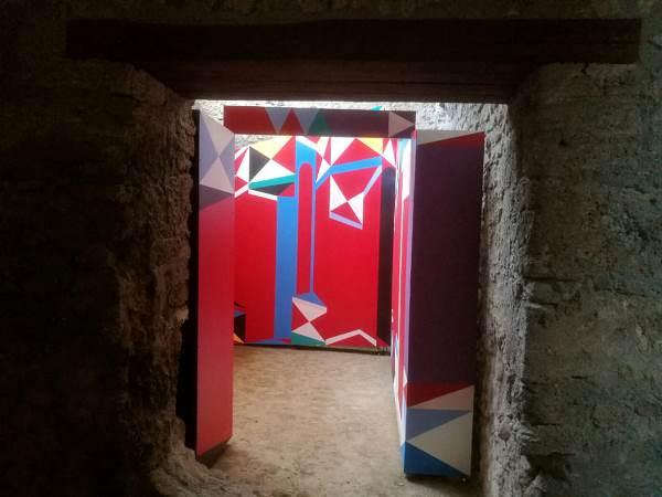 Catrin Huber - Expanded Interiors. Casa del Criptopórtico en Pompeya.