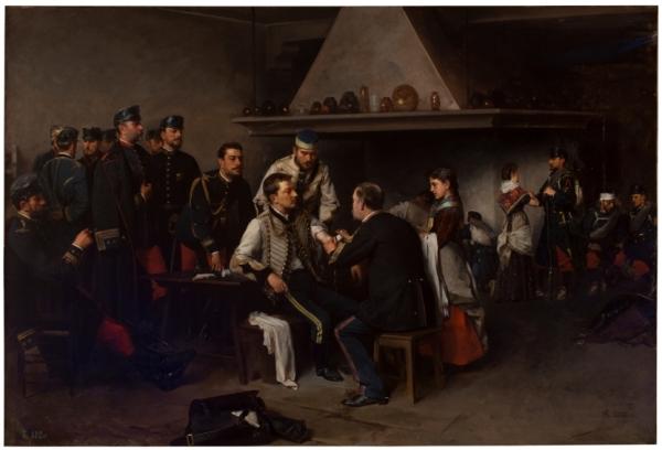 Enrique Estevan y Vicente - El primer balazo, 1849.
