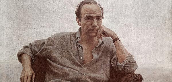 Hernán Cortés Moreno - Retrato Gregorio Marañón, 2005. Acrílico/lienzo. Colección Gregorio Marañón, Marqués de Marañón.