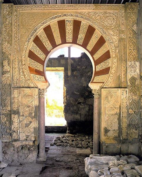 Medina Azahara, Dar al-Muk o Casa Real. Residencia íntima del califa Abd al-Rahman III. Sector residencial del Alcázar. Terraza superior.