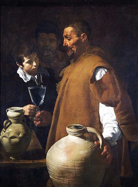 Diego Velázquez – El aguador de Sevilla, hacia 1620 – 1622. Óleo sobre lienzo. 106,7 cm × 81 cm. Apsley House, Londres.