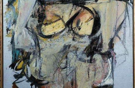 Willem de Kooning - Woman-Ocher (Mujer Ocre).