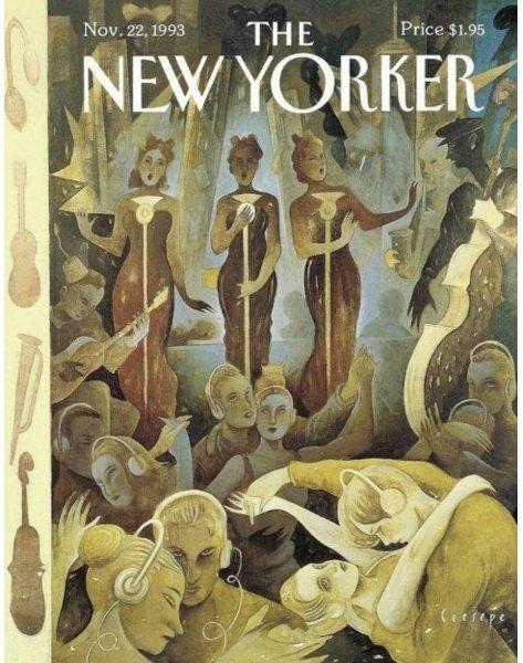 Ceesepe - Portada de The New Yorker Nov 22 1993.