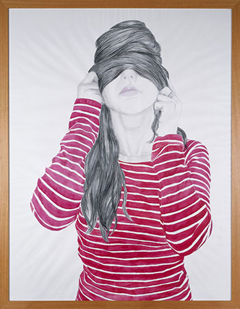 Cristina Lucas - Sin título, Serie Nunca verás mi rostro, 2005. Colección de la Fundación Coca-Cola.