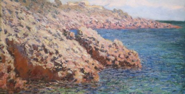 Claude Monet . La Mediterranée, (Cap d´Antibes), 1888. Columbus Museum of Art. Bequest of Frederick W. Schumacher.
