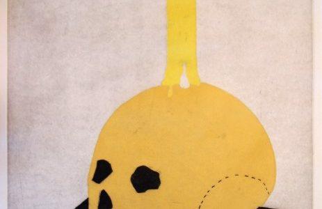 """Eduardo Arroyo – Vanitas, 1991. Obra gráfica. Resinas. Tirada de 75 ejemplares. Perteneciente a la colección """"El Museo del Prado visto por 12 artistas contemporáneos""""."""