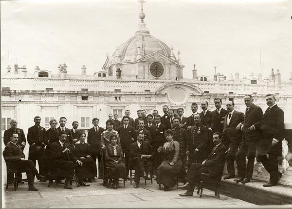 Distintas imágenes de la Oficina de la Guerra Europea.