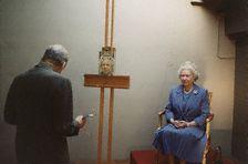 Lucian Freud - Retratando a la reina Isabel II.